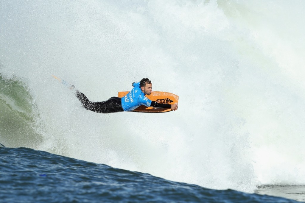Jason Finlay of New South Wales rides a wave. Cameron Spencer/Getty Images