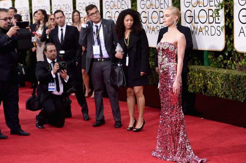 Kate Bosworth attends the 73rd Annual Golden Globe Awards. John Shearer/Getty Images