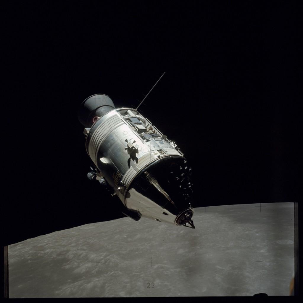 Apollo 17 Hasselblad image from film magazine 145/D - EVA-2, Post-EVA-3 & Orbit. NASA Photo