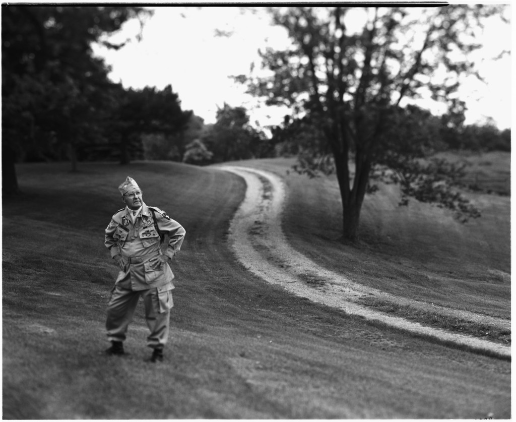 Robert Williams, sergeant with the 101st Airborne Division, in Kentucky, 2004. David Burnett/Contact Press Images