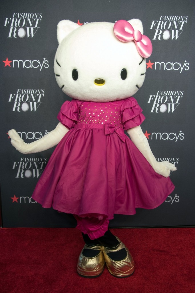 Hello Kitty attends Macy's Presents Fashion's Front Row. Mike Pont/WireImage