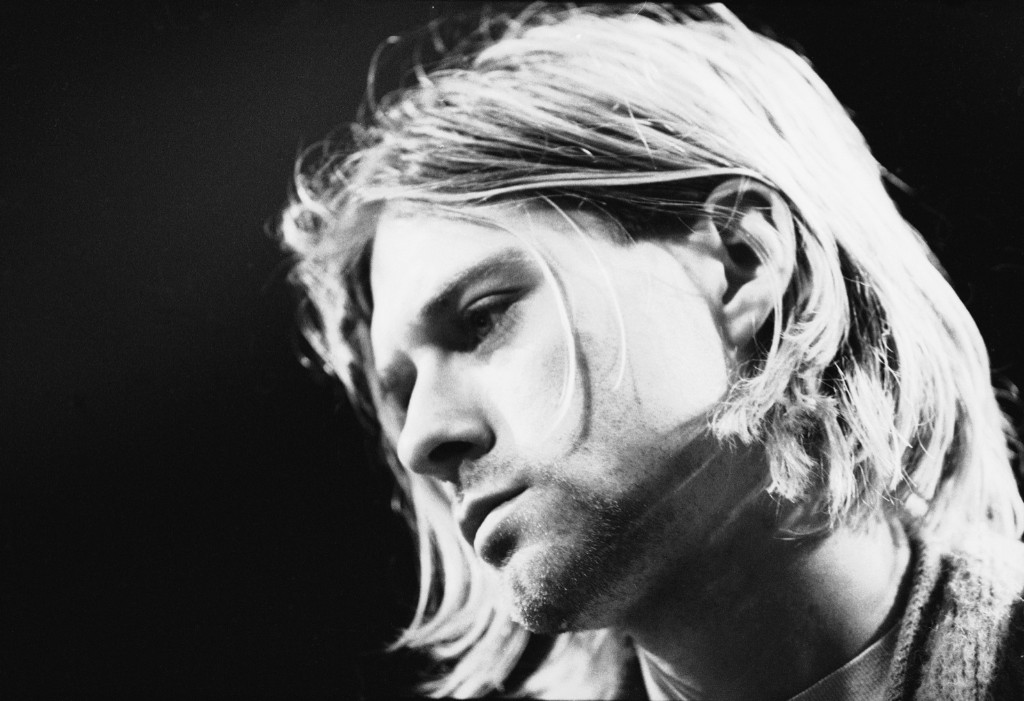 Cobain during the 'MTV Unplugged' taping in 1993. Frank Micelotta/Getty Images