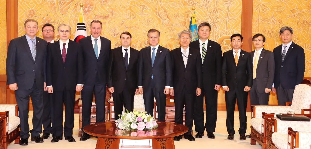 South Korean president endorses Russian presence at Winter Games