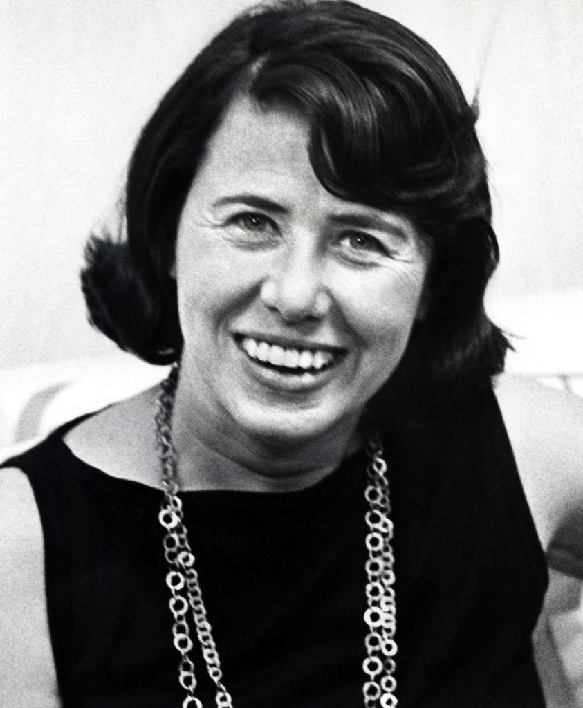 Gossip columnist Liz Smith in 1970. Ron Galella/WireImage