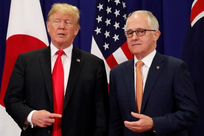 Australian leader to raise China, Trans-Pacific trade deal in Trump talks