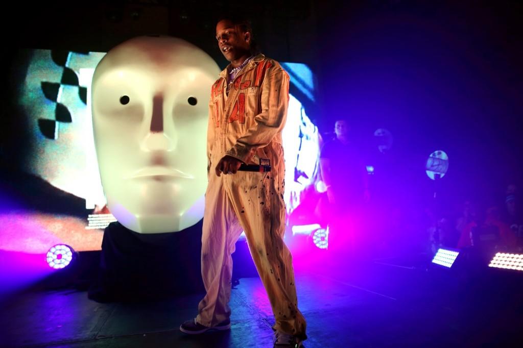 A$AP Rocky performs a secret show at Village Underground in London. Burak Cingi/Redferns