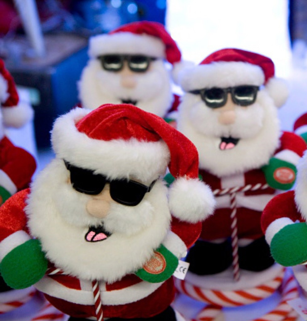 Christmas decorations in a department store in Bonn. Ulrich Baumgarten/Getty Images