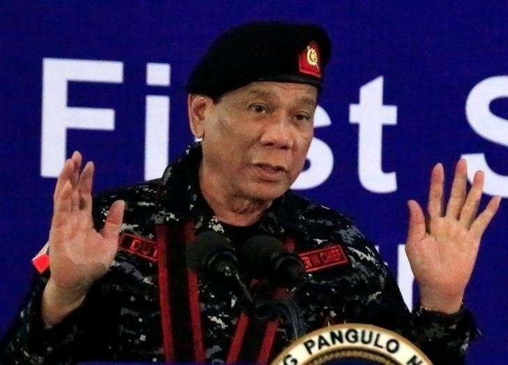 'Shoot me' if I become a dictator: Philippine leader tells troops to protect constitution