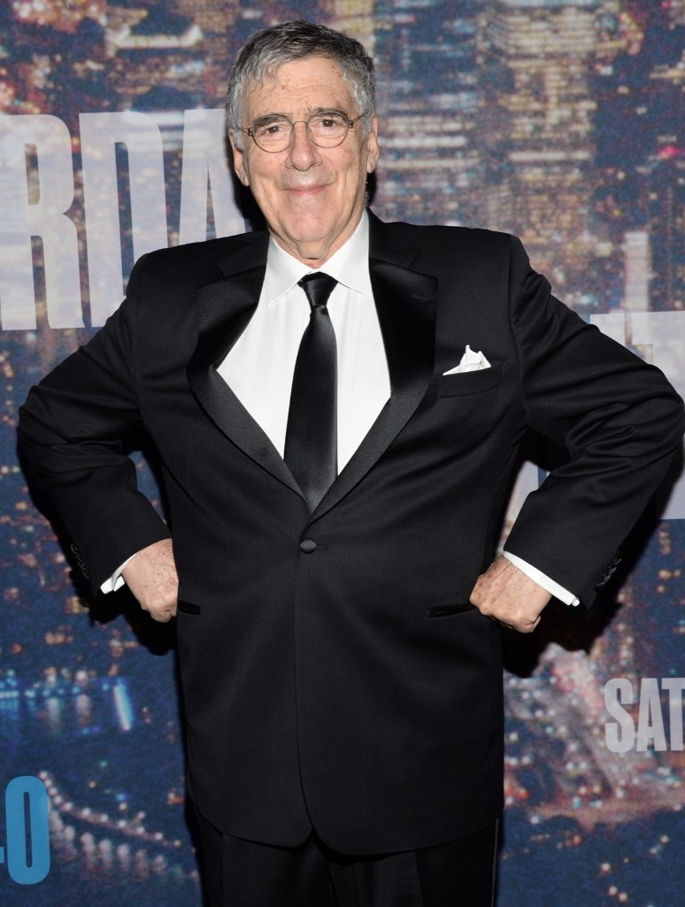 Elliott Gould arrives at the Saturday Night Live 40th Anniversary Special, Sunday, in New York. Evan Agostini/Invision/AP
