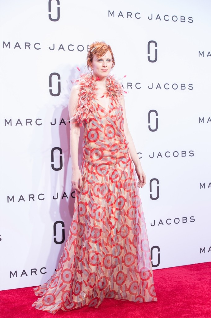 The Marc Jacobs Spring 2016 collection. AP Photo/Bryan R. Smith