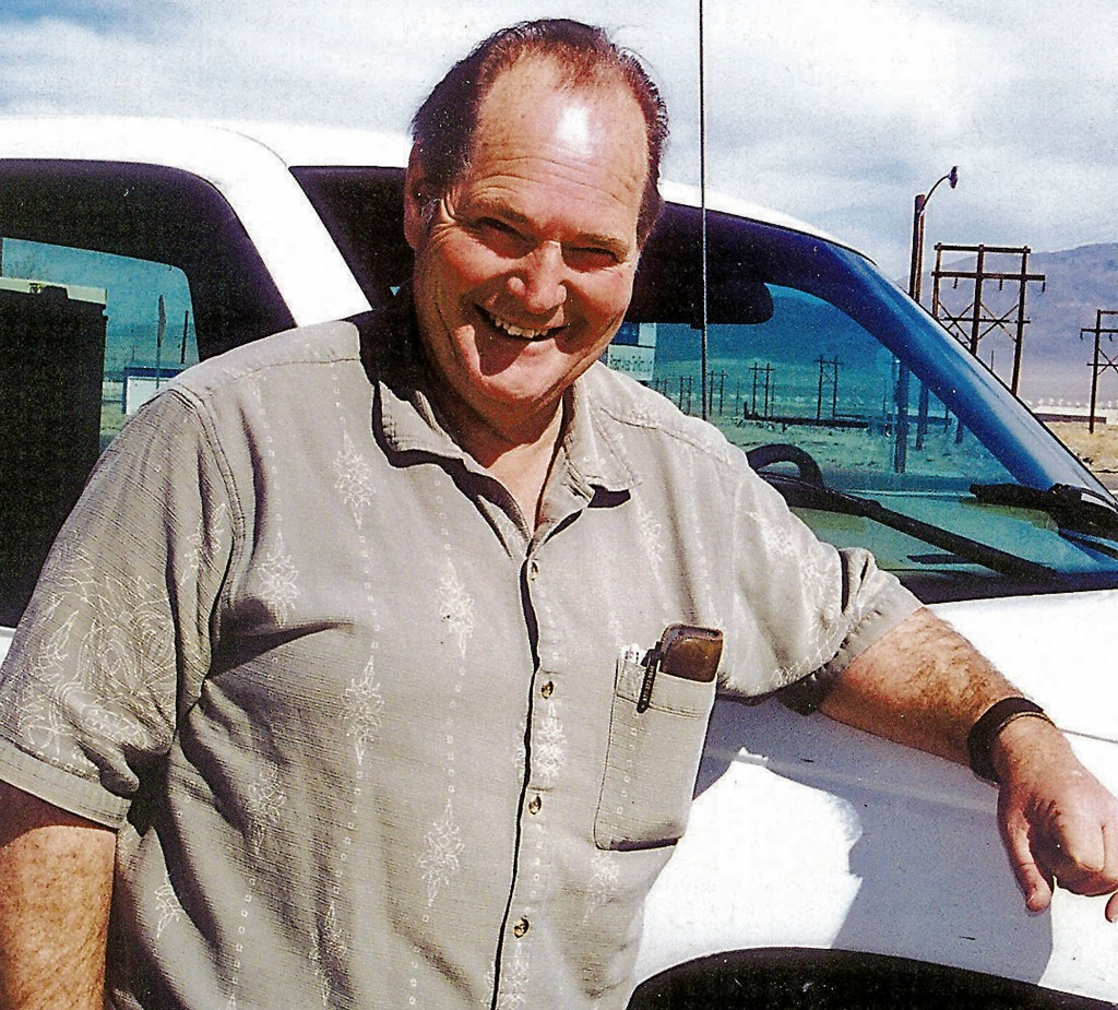 FILE - This March, 2004 file photo shows Melvin Dummar in Hawthorne, Nev. Dummar, a delivery driver who falsely claimed that billionaire Howard Hughes left a handwritten will bequeathing him $156 million, has died in rural Nevada. Nye County Sheriff Sharon Wehrly said Dummar died Sunday, Dec. 9, 2018, under hospice care. He was 74. (David C. Henley/Lahontan Valley News via AP, File)