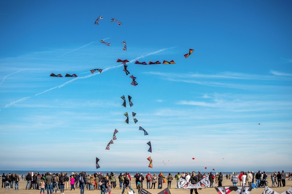 The 30th International Kite Festival in Berck-sur-Mer, northern France. PHILIPPE HUGUEN/AFP/Getty Images