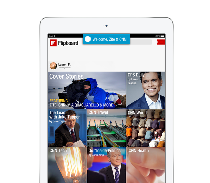 Flipboard is Your Personal Magazine