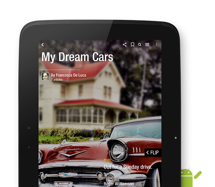 Create Your Own Magazines – Now Available for Android