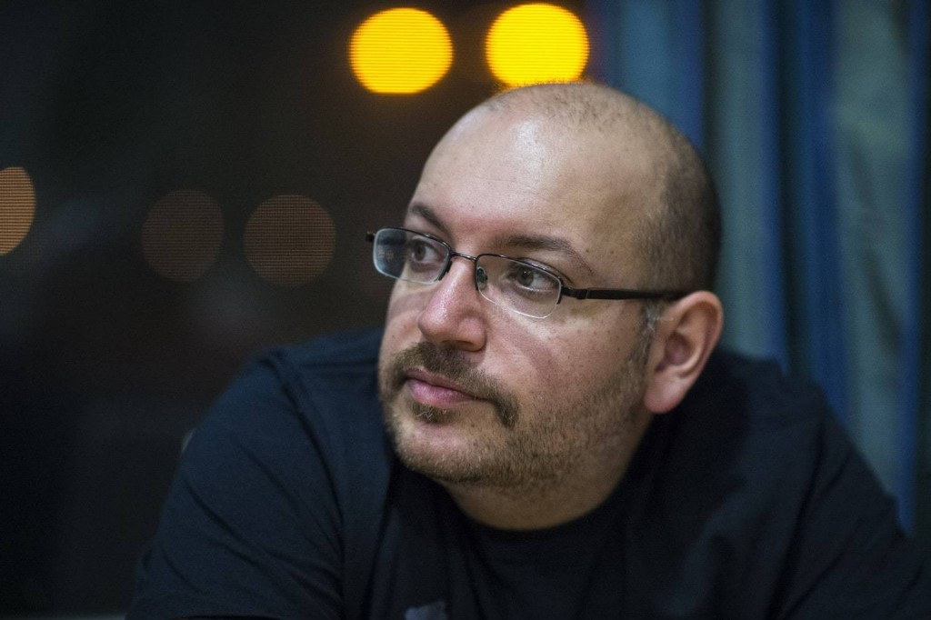 After his release from Iran, Rezaian listens as his family and friends reflect on their experiences during the ordeal. (Jabin Botsford/The Washington Post)