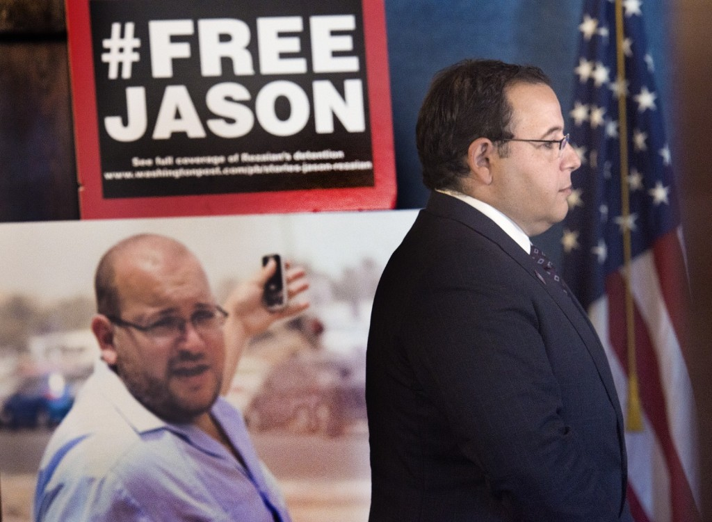Ali Rezaian, Jason Rezaian's brother, speaks about his case at the National Press Club in Washington in July 2015. (Linda Davidson/The Washington Post)