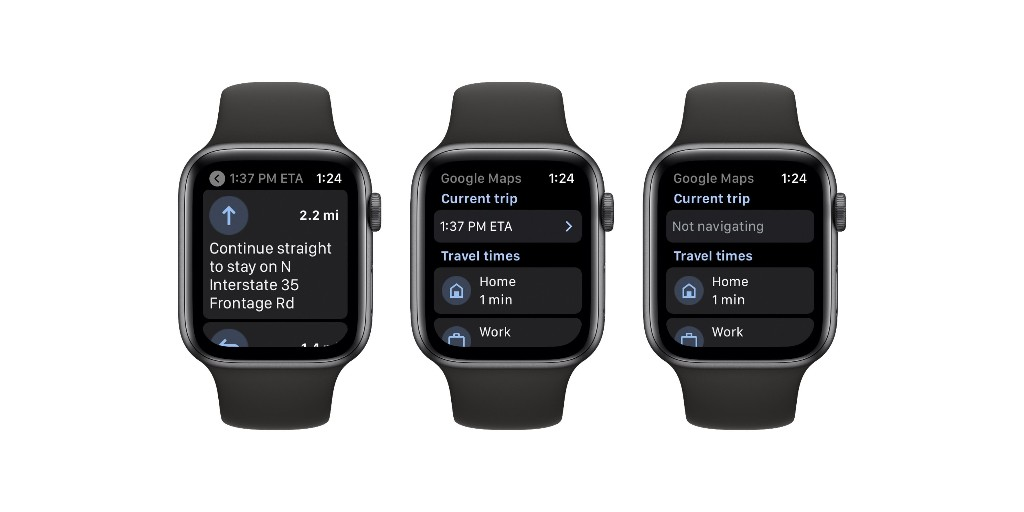 Google Maps for Apple Watch is now available on App Store - 9to5Google