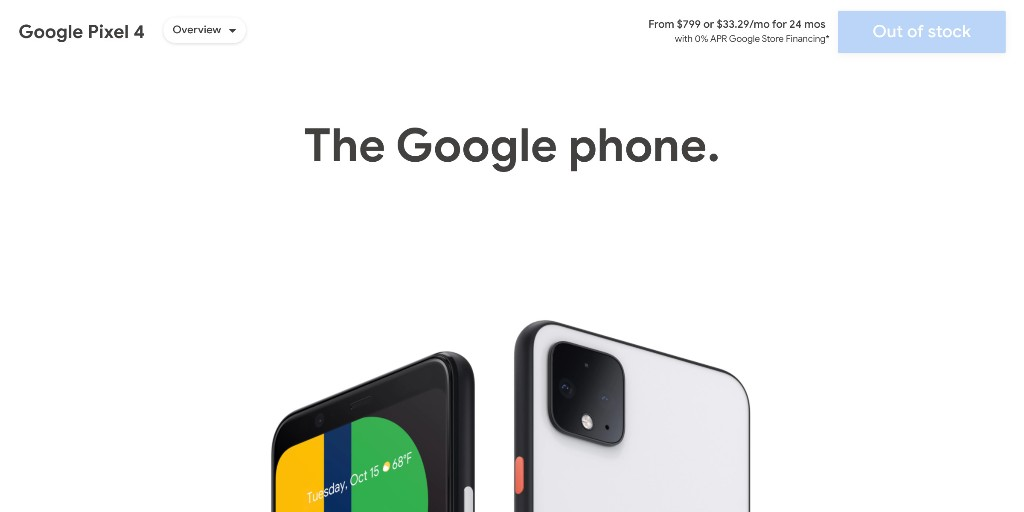 Google discontinues Pixel 4 after less than a year - 9to5Google