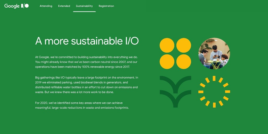 Google details sustainability at I/O 2020, like carbon offsets - 9to5Google