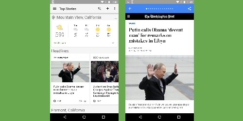 Google News on Android, iOS, and mobile web will soon list AMP articles