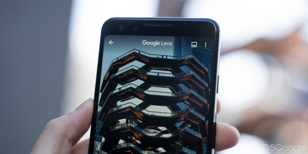 Google Lens camera redesign inspired by Pixel rolling out - 9to5Google
