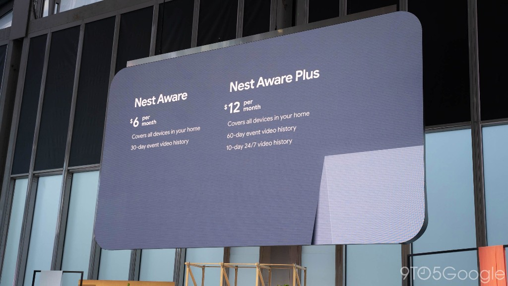 Nest Aware now uses a flat pricing structure, includes all your devices for $6 - 9to5Google