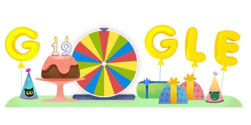Google celebrates 19th birthday with a chance to try 19 Doodle games – and one new one