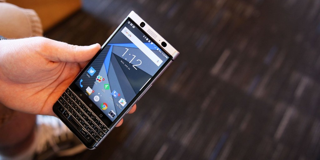 the new blackberry - cover