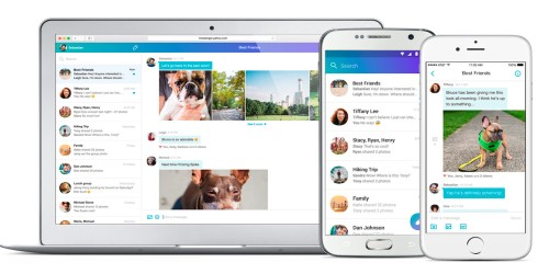 Yahoo Messenger gets a new life w/ redesigned mobile & web apps