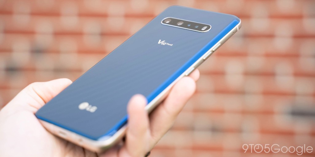 LG V60 ThinQ gets April security update on time - 9to5Google