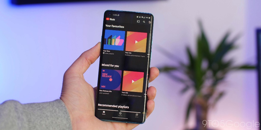 YouTube Music tests Play Music-like Recent activity carousel - 9to5Google