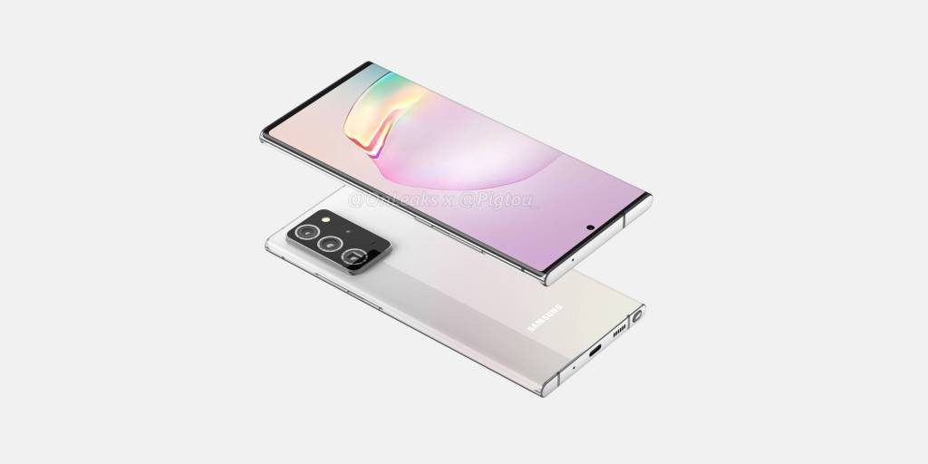 Galaxy Note 20+ renders show off bigger screen, design - 9to5Google