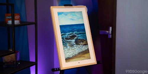 Hands on: Lenovo's Smart Frame is begging to show off your Google Photos library