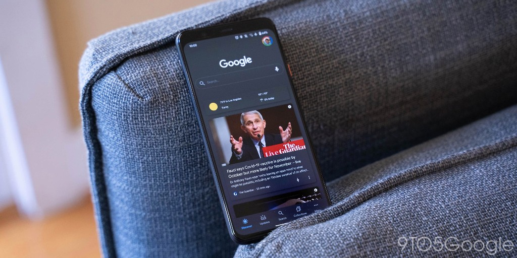 Google Discover linking to Google News full coverage - 9to5Google