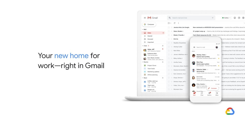 Gmail redesign puts Google Docs, Chat, & Meet side-by-side - 9to5Google