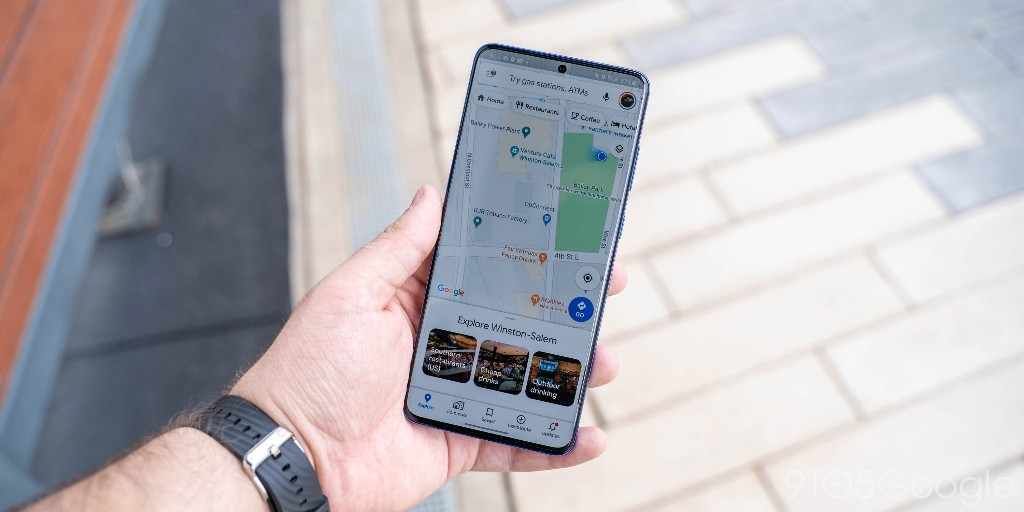 Google Maps will show how busy a place is directly on a map
