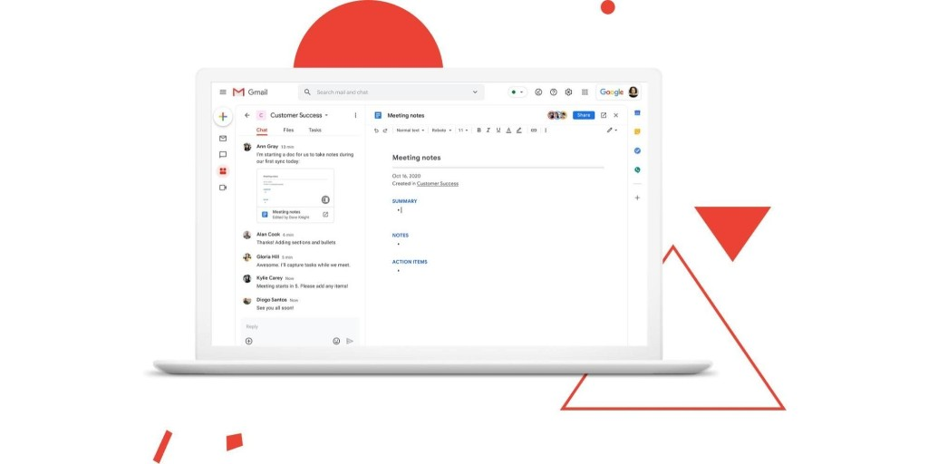 Gmail is Google's new 'home for work,' currently G Suite oly - 9to5Google