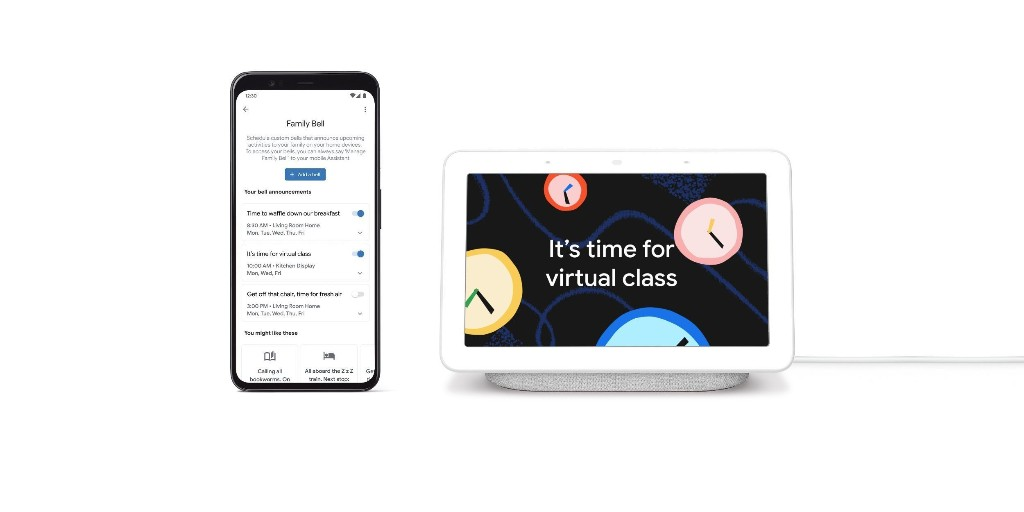 Google Assistant adds 'Family Bell' and precise Broadcasts - 9to5Google