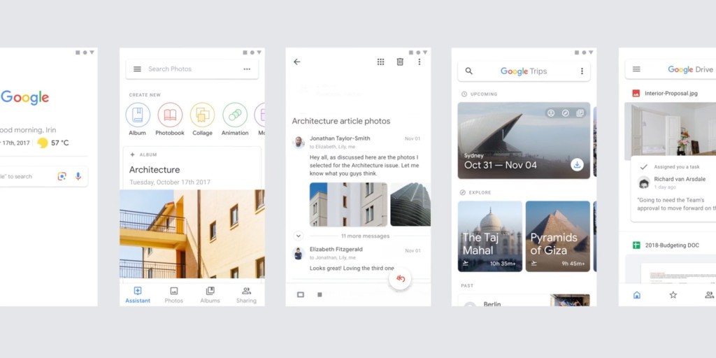 Google Material demo reel shows off revamped Gmail, Drive on mobile, Google Photos on web - 9to5Google