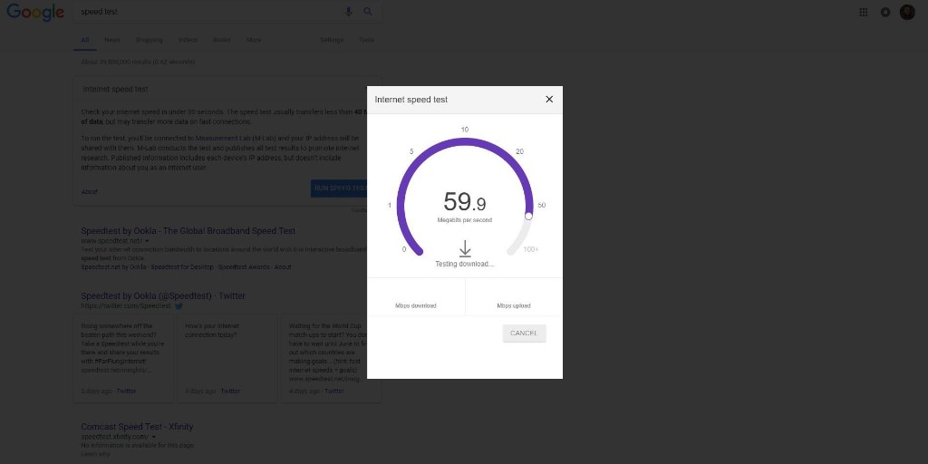 How to check your internet speed right from Google's homepage - 9to5Google