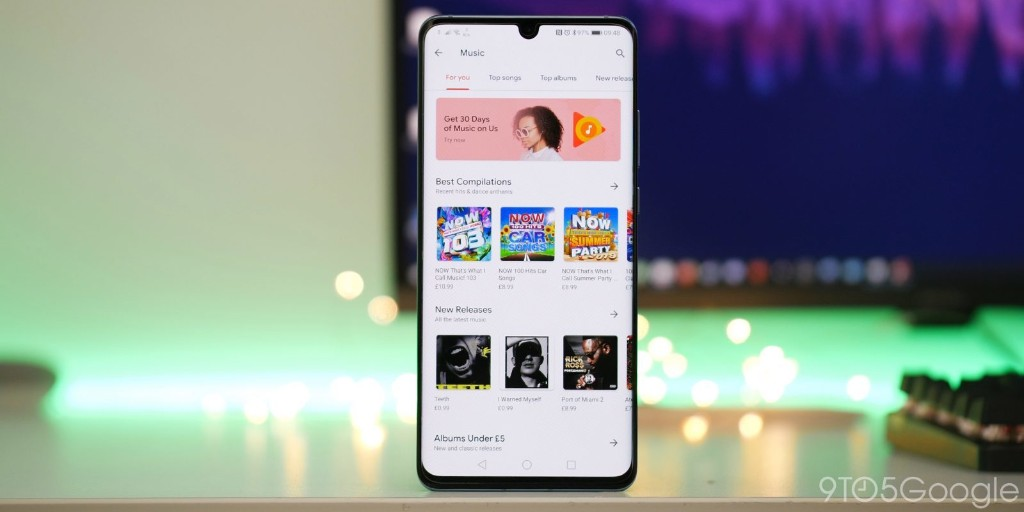 Google shuts down Play Music store for buying songs - 9to5Google