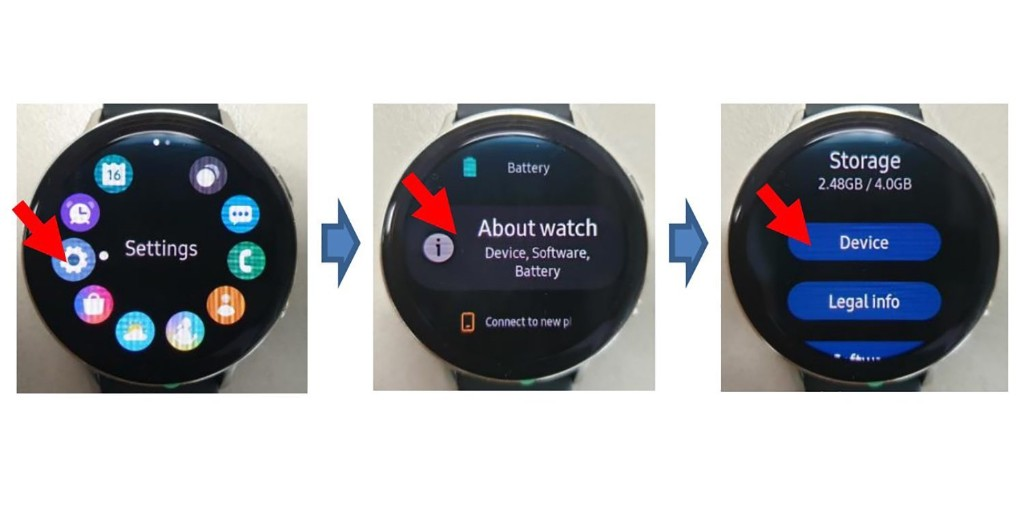 FCC leaks images of the Samsung Galaxy Watch Active 2 - 9to5Google