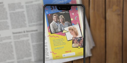 'Stranger Things 3' newspaper ads come to life with Google Lens AR
