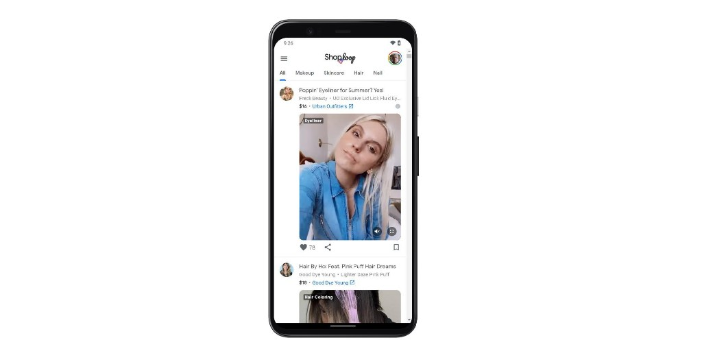 Shoploop from Google's Area 120 is a TikTok for shopping - 9to5Google