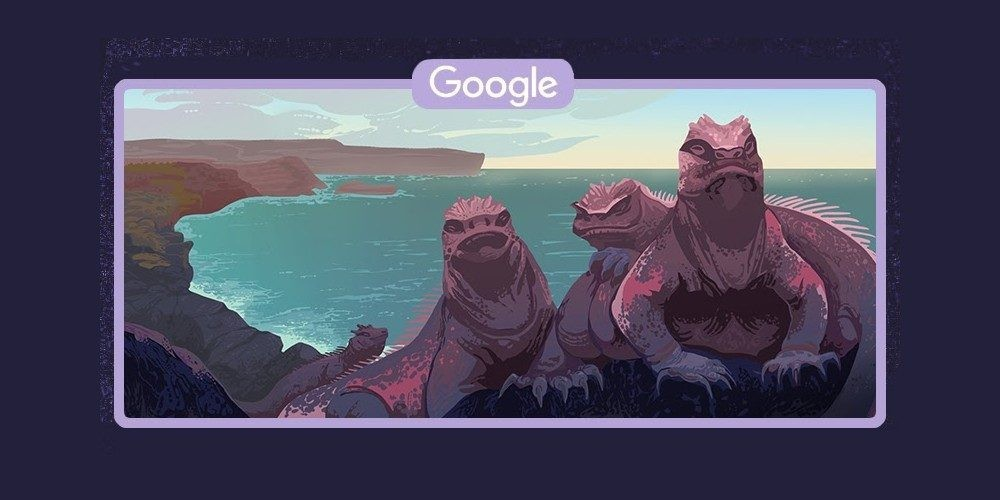Google Doodle shows the beauty of the Galápagos Islands - 9to5Google