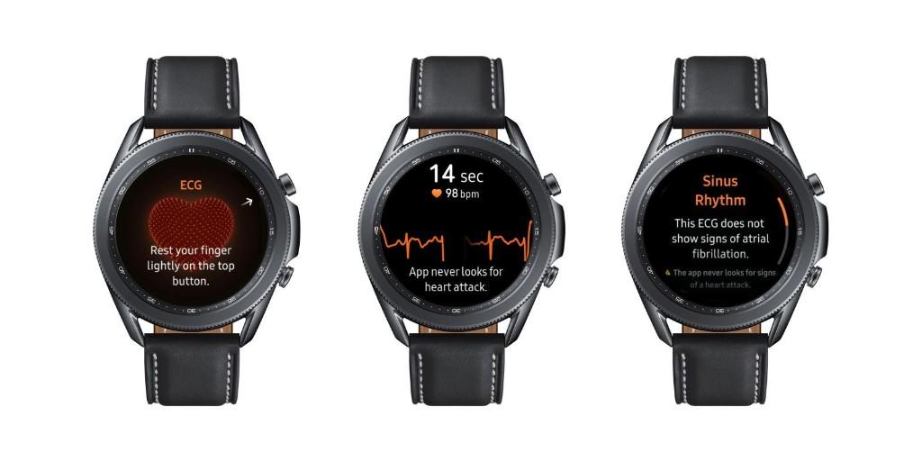 Samsung Galaxy Watch 3, Active 2 get ECG readings today - 9to5Google