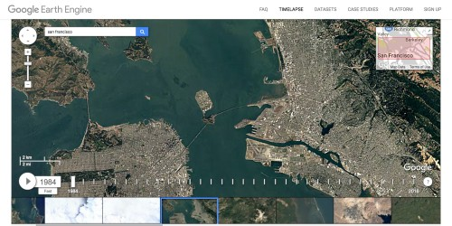 Google Timelapse shows how any location on Earth has changed over the past 32 years