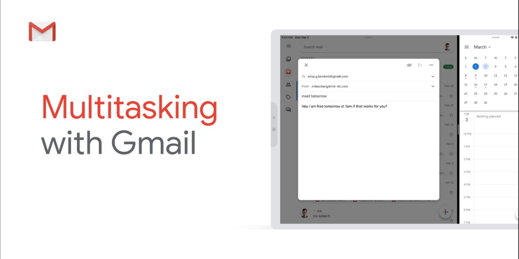 Gmail finally supports Split View multitasking on iPads -