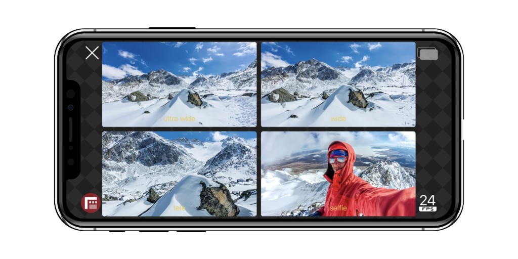 Following demo at iPhone 11 event, FiLMiC multi-cam recording now available as new 'DoubleTake' app - 9to5Mac