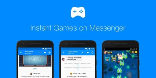 Facebook goes head-to-head with iMessage in Instant Games rollout
